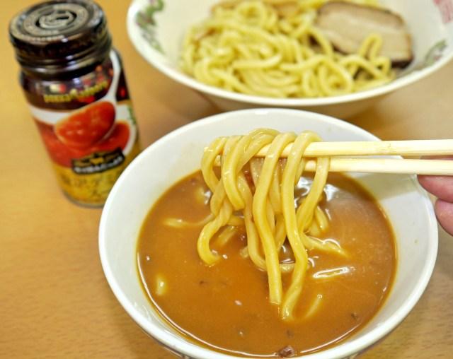 ウマいと評判の『贅沢デミグラススープ』をつけ麺にすると激ウマ! 1000円出してもいいレベルに進化するぞ~ッ!!