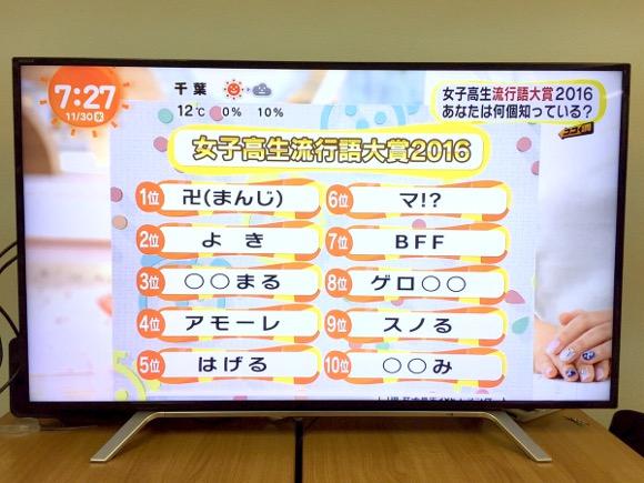 【いくつわかる?】『女子高生流行語大賞2016』が発表される →「卍」とか「はげる」とか意味不明すぎィィィイイイ!