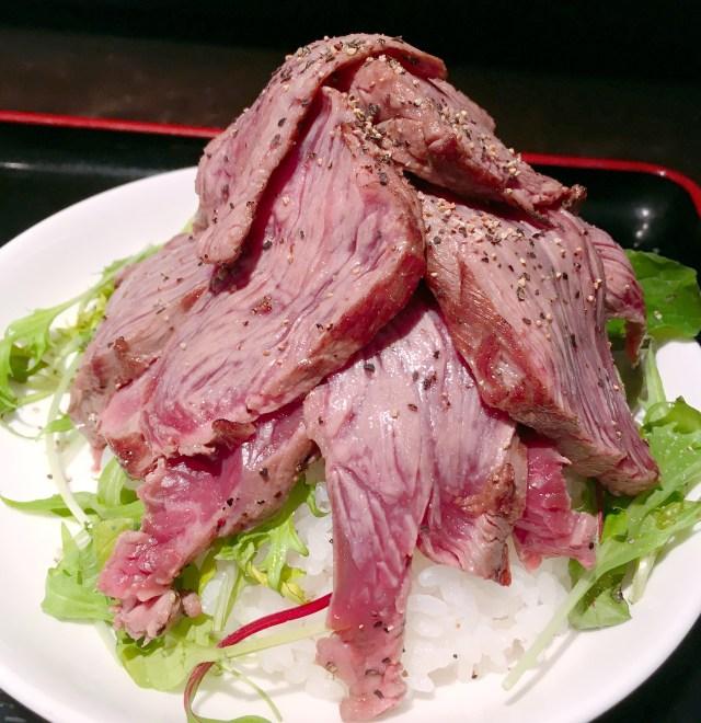 【いい肉の日】東京厨房 三田店の「カイノミレアステーキ丼」が激ウマい!! 今日くらいウマい肉食おうぜ!