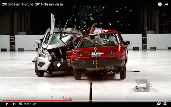 追記あり【検証】アメリカ産とメキシコ産の車を正面から衝突させた結果 → 笑えるくらいの品質差を露呈