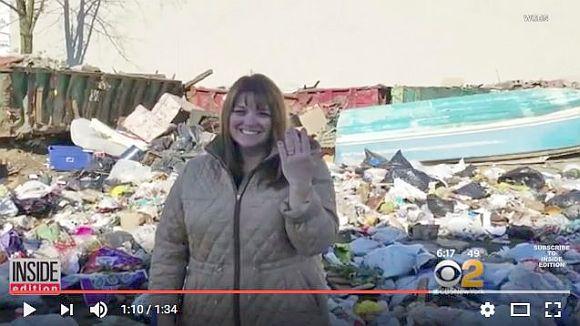 ある女性が料理中にダイヤの結婚指輪を紛失! → ゴミ処理場でゴミの山をあさりまくって奇跡を起こす!!