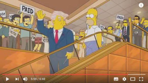 人気アニメ『シンプソンズ』で16年前に「トランプ氏の大統領就任」が描かれていた! 同時多発テロ事件やエボラ出血熱の流行も予言!!