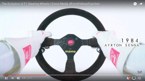 【必見】F1の「ハンドルの進化」が3分でわかる動画がコレだ!