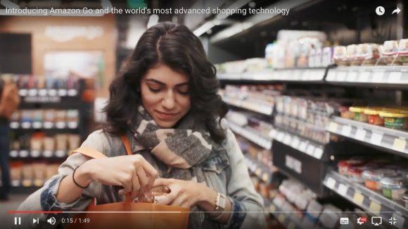 【天才かよ】Amazonが「レジのないコンビニ」をオープン! 商品を持ち帰るだけで清算完了!!