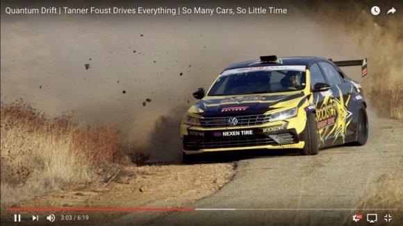 ドリフト世界チャンピオン「タナー・ファウスト」の動画がエゲツないほど大迫力!