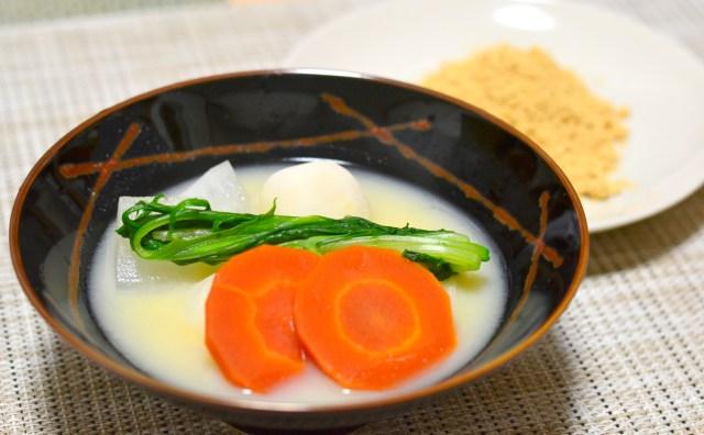 【知ってた?】奈良の雑煮は「きな粉」必須! わざわざ出汁から取り出してつけんねん~!!