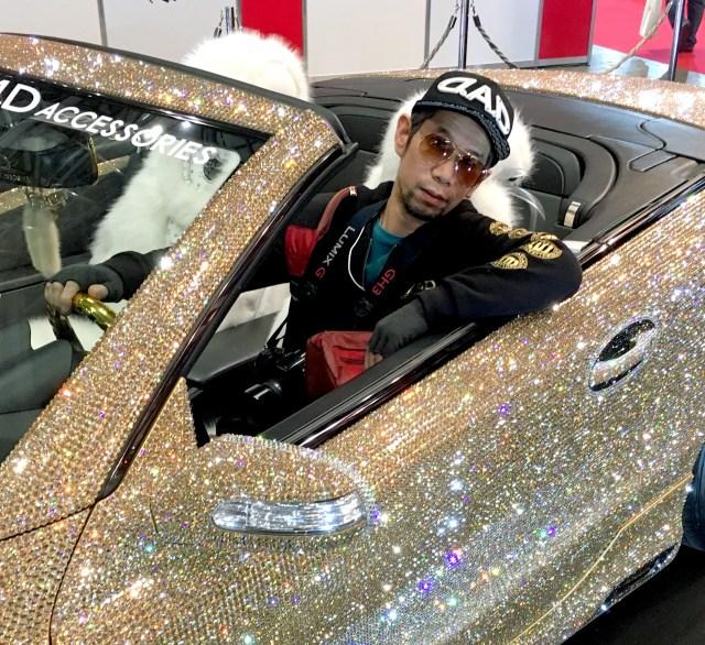 【東京オートサロン2017】今年もきた! ラグジュアリーすぎる「D.A.D」のクリスタルベンツ / あの煌めきこそがオートサロンだッ!!