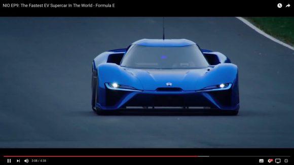 【衝撃動画】中国メーカーが作ったモンスター級の電気自動車「NIO EP9」が速すぎてビビった