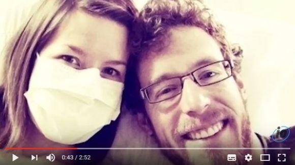 夫にアレルギー反応を起こしてしまう妻の生活が壮絶 / 難病と闘う夫婦の愛に感動!