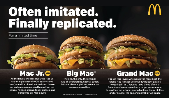 【デブ歓喜】米マクドナルドでビッグマックより巨大な「グランドマック」発売決定! 日本にも早く上陸しろォォオオオ!!