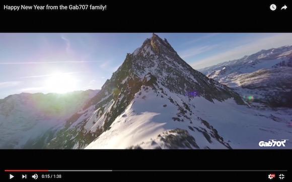 【自然の神秘】人が踏み入ることのできない雪山をドローンで撮影成功! 上空から見る景色は心が洗われる美しさ!!