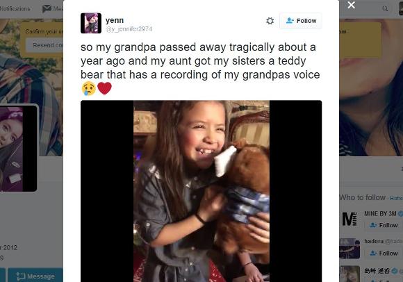 【涙腺崩壊】おじいちゃんを亡くした少女に仕掛けられたドッキリが素敵すぎる!