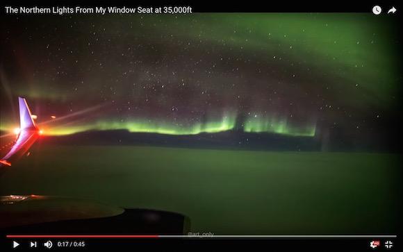 【神秘的映像】アイスランドのはるか上空で撮影された「オーロラ」が息を飲むほど美しい