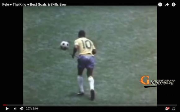 サッカーの王様と呼ばれる「ペレ」がいかにスゴかったのか一発でわかる動画がコレだ!!