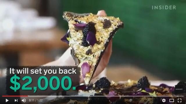 おぼっちゃまくんかよ! NYで「23万円のピザ」爆誕!! 一切れあたり約2万8000円ぶぁい!