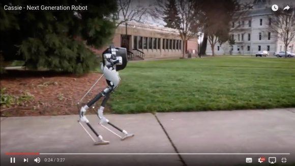 【動画】上半身なし! 下半身しかない「2足歩行ロボット」が高性能すぎる件