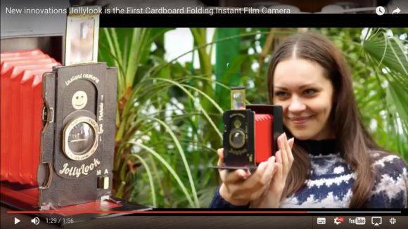 【5000円以下】紙製なのにまるで本物!「電池不要のビンテージ風インスタントカメラ」が海外で人気沸騰中!!