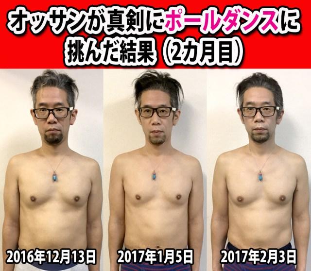 【マッスル検証】2カ月間真剣にポールダンスに挑んだ結果 → 目に見えて筋肉量が増しているッ!!