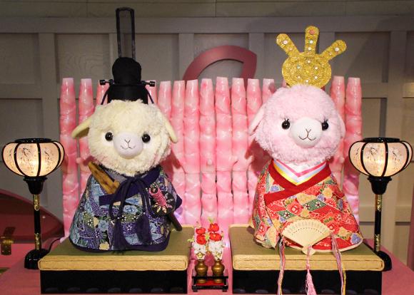 """【マジかよ】あの「岩下の新生姜ペンライト」を180本使用した """"ひな祭り"""" 開催決定!"""