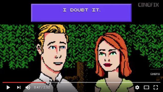 アカデミー賞最有力候補作品『ラ・ラ・ランド』を8ビット風にしてみたらこうなったって動画 / 超レトロ感満載なビデオゲーム風ロマンスに!