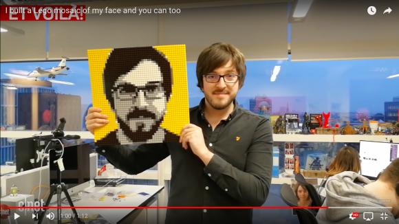 【やってみたい】自分で組み立てる「LEGO製の似顔絵メーカー」が爆誕!