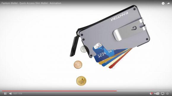 【動画あり】「高性能カード型財布」が海外で話題沸騰中! なんと目標額を6500%オーバー!!