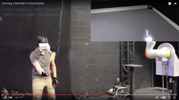 【未来キタ】現実とバーチャルが繋がった! ディズニーの新VR技術がまるでマトリックス