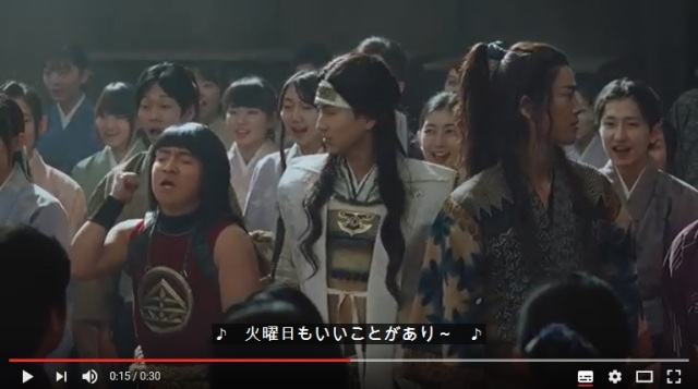 【auの三太郎】新CMの舞台は卒業式! まさかの展開に3人の反応は?