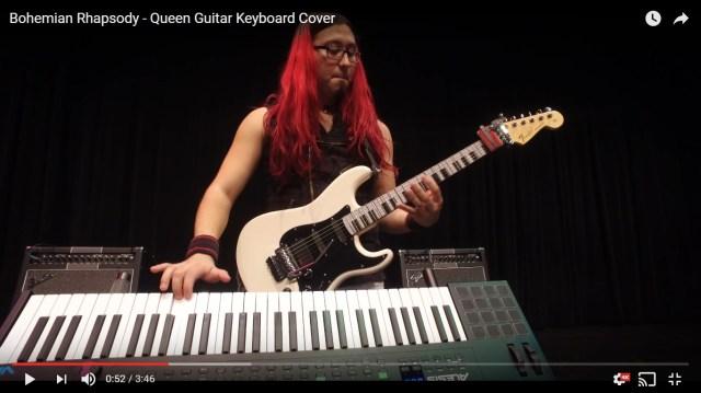 【衝撃動画】たった1人でクイーンの『ボヘミアン・ラプソディ』をバンド演奏する男 / ネットの声「魔法」「信じられない」