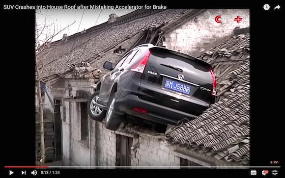 【衝撃動画】中国で本当にあった「アクロバティック交通事故」が映画スタントのよう