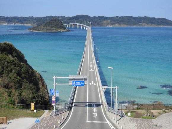 【絶景】日本一美しい「角島大橋」が海外と錯覚するほど別世界