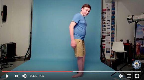 【閲覧注意】足首を「ほぼ180度回転出来る青年」がギネス記録を更新! 足が折れたみたいなビジュアルがマジ怖い!!