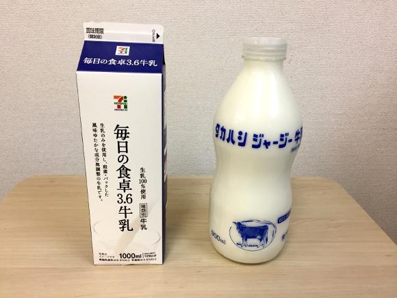 【第13回】グルメライター格付けチェック『牛乳』編 !「低温殺菌の超高級牛乳」vs「コンビニの牛乳」