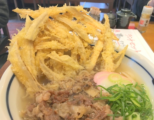 椀から飛び出すビッグな『ごぼう天うどん』が最強! 大阪にある「うどん屋麺之介」は福岡県民も大満足な味だった!!