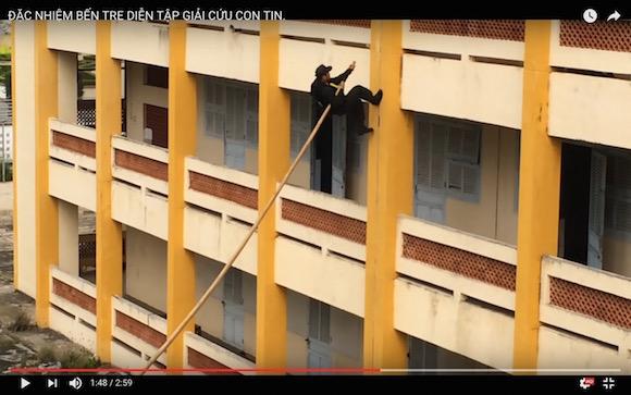 【衝撃動画】ベトナム特殊部隊の訓練がリアル忍者の神連携