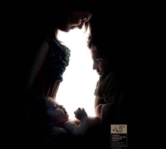 【なんだか分かる?】ある「目の錯覚」広告のアイディアが秀逸 / 気付けばアハ! その後に胸がジーン