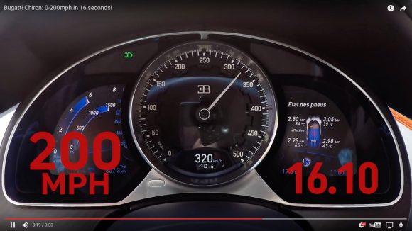 【速すぎる】3億円の超高級スポーツカー「ブガッティ・シロン」が本気を出すとこうなる