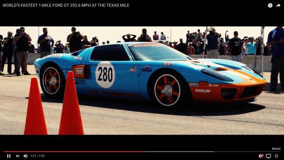 【世界最速】2000馬力にチューンナップされた「フォードGT」の衝撃の加速力がこれだ!