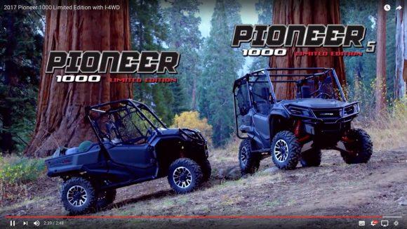 【動画あり】米国ホンダのオフロードカー「Pioneer」がワイルドすぎィィイイ! 今すぐアメリカの山奥に移住したくなるレベル!!