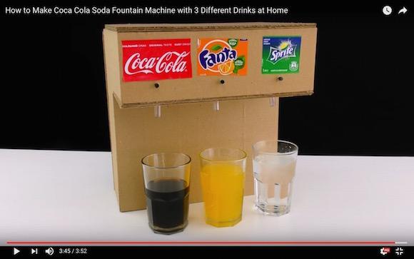 【天才かよ動画】自宅で簡単にドリンクバーを作る方法