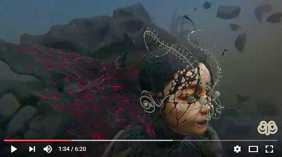 世界の歌姫ビョークが全編バーチャルリアリティーの最新PVを発表! 6分以上にわたる超大作のデキが超斬新!!