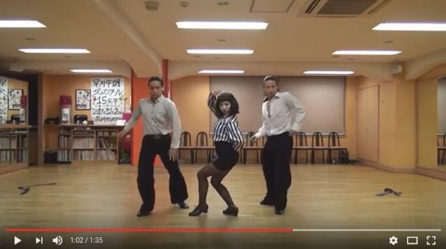 【35億】社交ダンサーによる本気の「ブルゾンちえみ」が疾風レベルのキレ具合