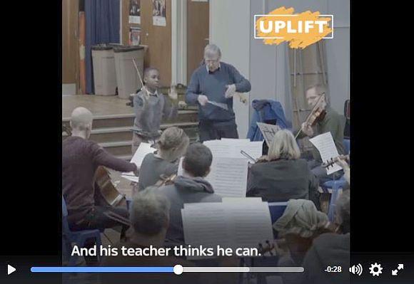 11歳の少年が75人編成のオーケストラの指揮を執ることに! 「世界最年少の指揮者」が誕生!!