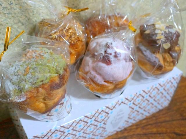 【超キュート】アイスクリームみたいなシュークリーム!!「ザ・シフォン&スプーン」の『ザ・シューコーン』は手土産にピッタリの新食感スイーツだった