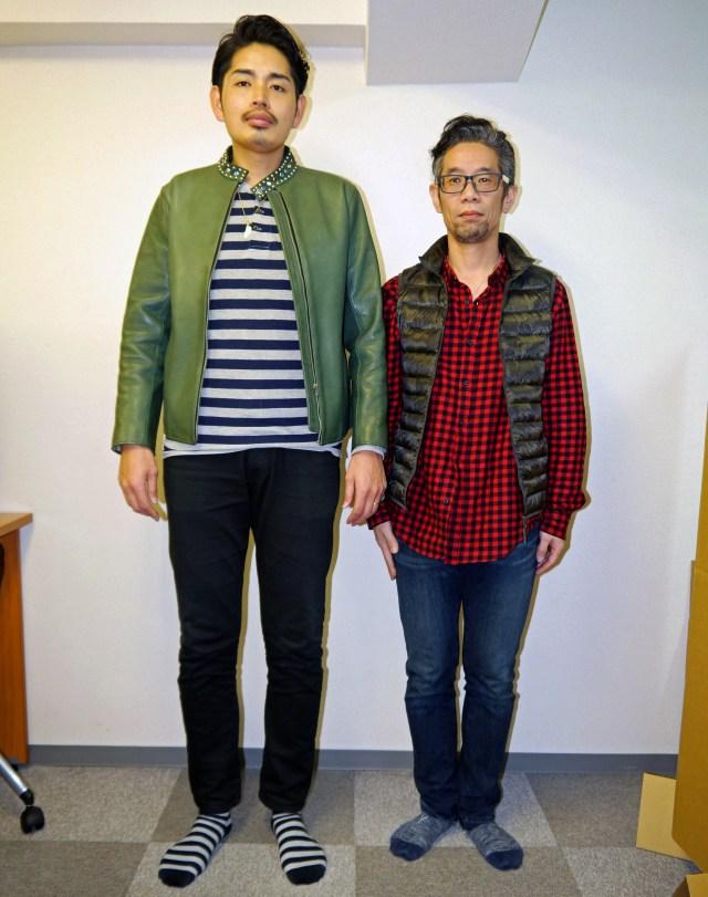 【過酷な現実】長身イケメンと短足オッサンがGUで買った同じ服を着たら、いろいろおかしなことになった!