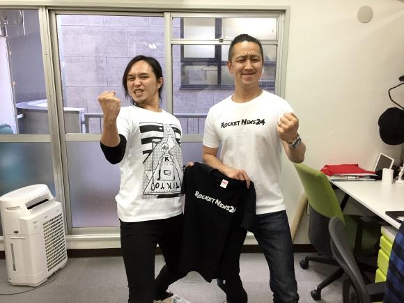 【お知らせ】ロケットニュース24の新Tシャツが完成したよー! 4月30日の「Tシャツラブサミット」でお待ちしております!!