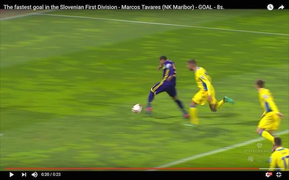 【動画あり】キックオフからたった8秒でゴール! 海外サッカーで電光石火の先制点が爆誕!!
