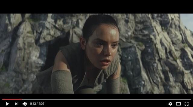 【速報】『スター・ウォーズ / 最後のジェダイ』の予告映像が初公開! ルークが衝撃発言「ジェダイは滅びる」