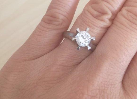 【金くれ】160万円の婚約指輪を買うためにクラウドファンディング中のユーザーが「あり得ない」と話題に! 集金額は現地点で7万円弱