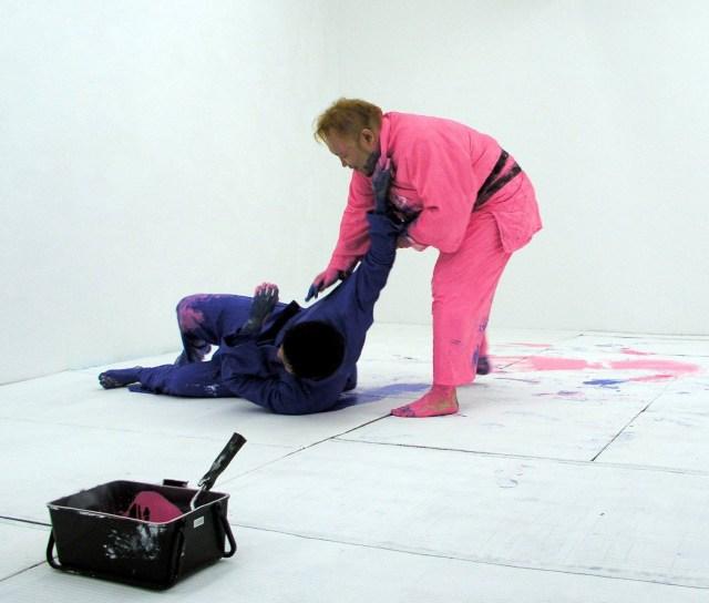 ジェット金次郎を手掛けた奇才「飯野哲心」の新たな挑戦! 柔道とアートを掛け合せた『Judo Painting』はこうして生まれた